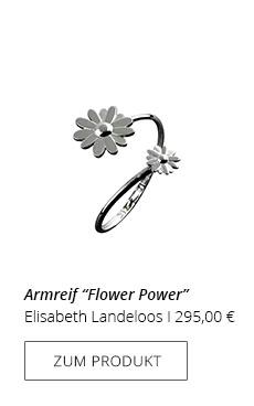 Armreif Blume
